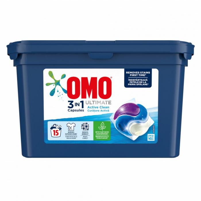 Omo Active Clean 15caps [0]