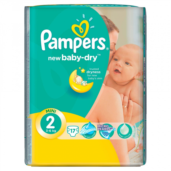 Pampers Nr 2 (17buc/Pach) 0