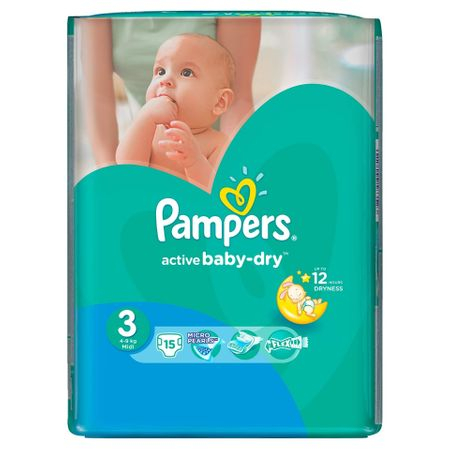 Pampers Nr 3 (15buc/Pach) 0