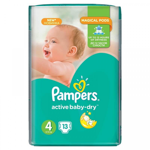 Pampers Nr 4 (13buc/Pach) 0
