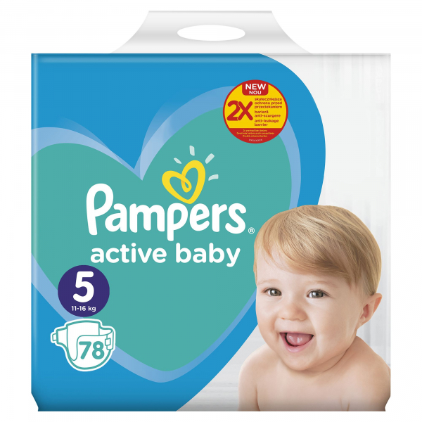 Pampers Nr 5 11-16kg (78buc/Pach) 0