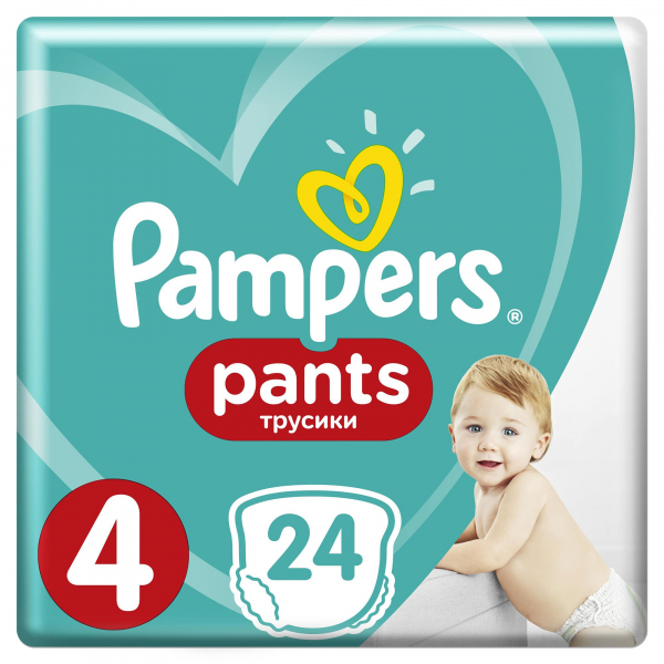 Pampers Pants Nr4 (24buc/Pach) 0