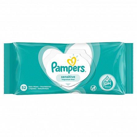 Pampers Servetele Sensitive 52 Buc [0]