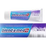 Pasta De Dinti Blend-A-Med 3d Fresh White Cool Water 100ml 0