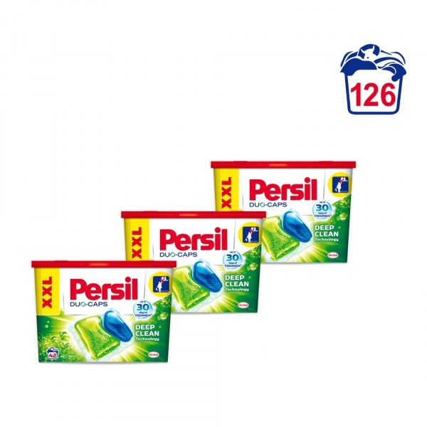 Persil Duo Caps Regular 126 Capsule 0