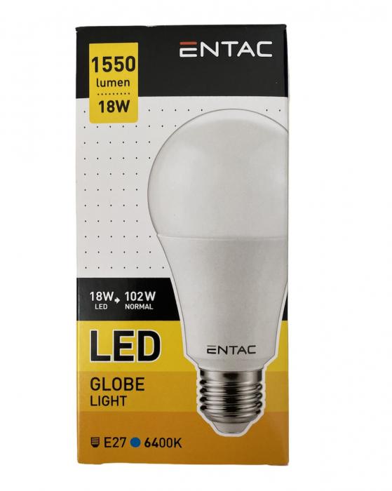 Entac Bec Avide Led E27 18(102)W Lumina Rece 0