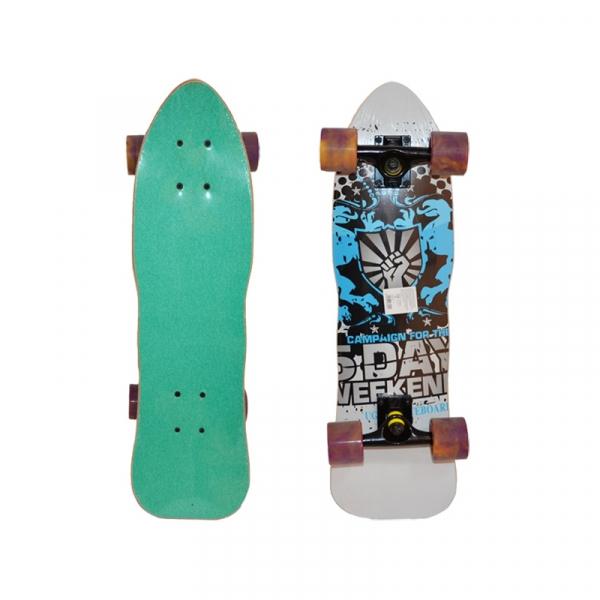 Placa skateboard profi, roti silicon, 70 cm 0