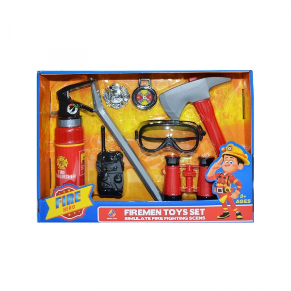 Play set pompieri 0