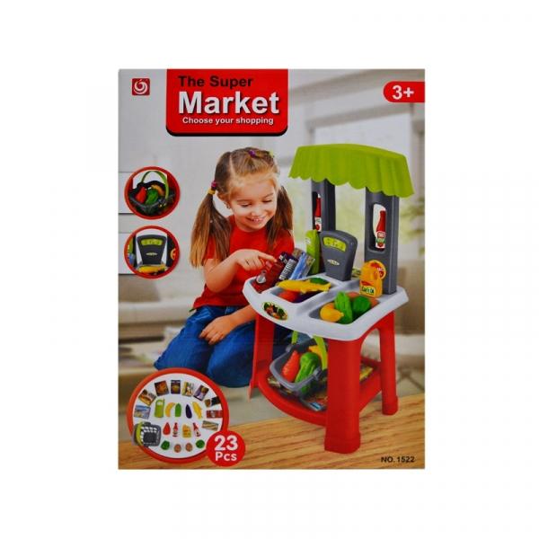 Play set supermarket, 23 piese 0