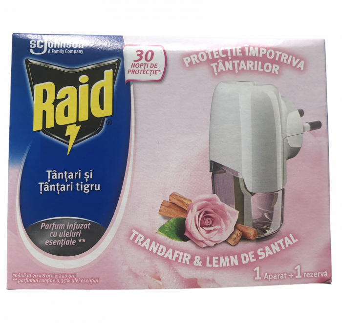 Raid Ap. Elect.+Rez. Trandafiri/Lemn Santal 0
