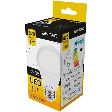 Entac Bec Avide Led E27 10(61)W Lumina Rece [0]