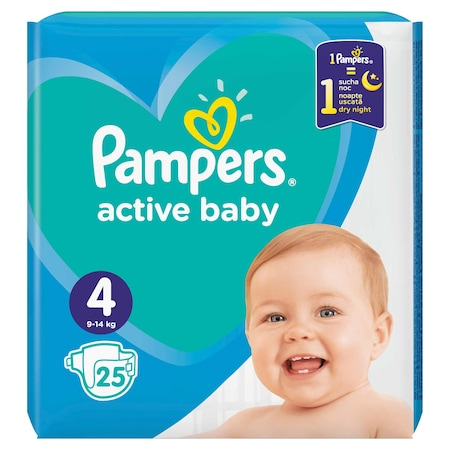 Pampers Nr 4 (25buc/pach) 0