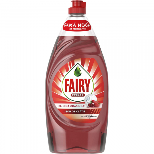 Fairy Extra Plus Fructe De Padure 900ml 0