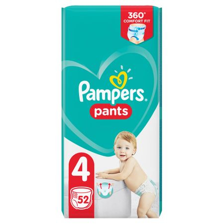 Pampers Pants Nr 4 (52buc/pach) 0