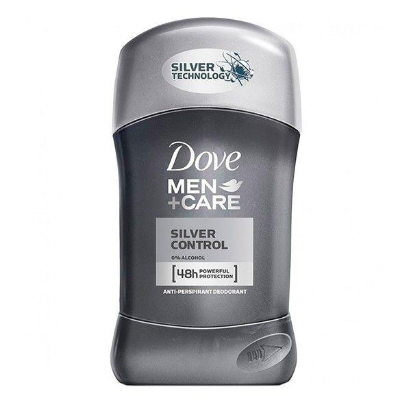 Dove Stick Men Silver 50ml 0