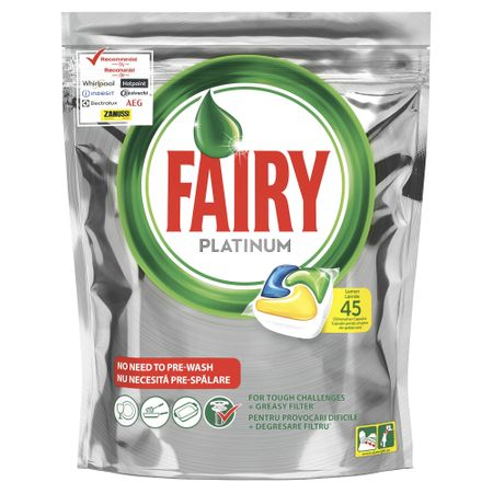 Fairy Platinum Yellow 45 Tablete 0