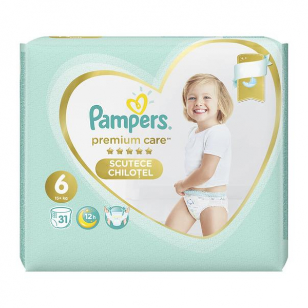 Pampers Premium Care Pants Nr6 (31buc/Pach) 0