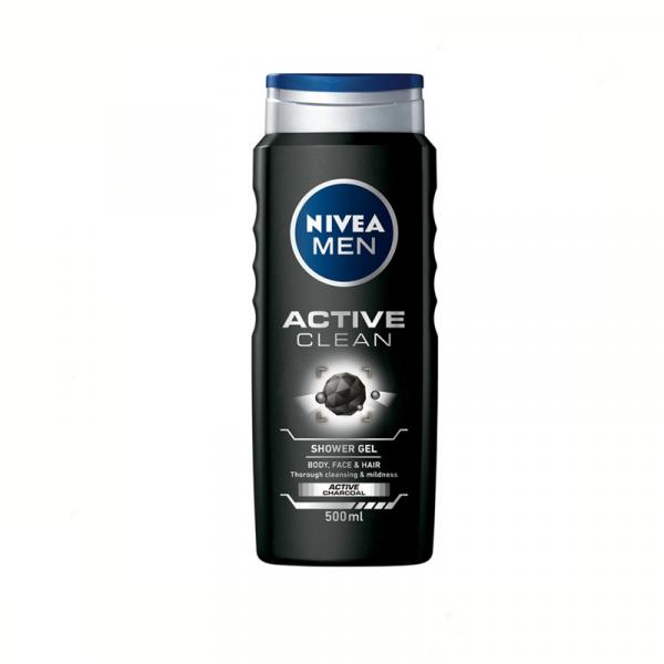 Nivea Gel De Dus Active 500ml 0