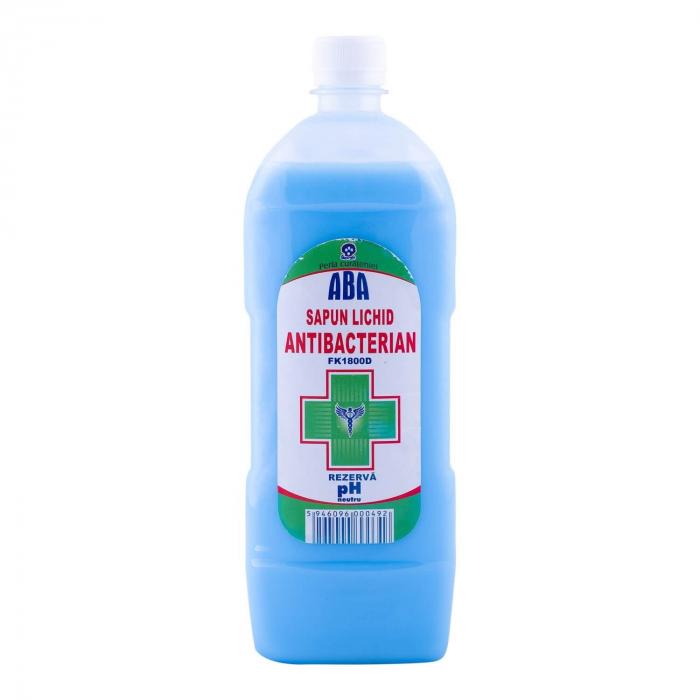 Rezerva Sapun Lichid Antibacterian Aba 1l 0