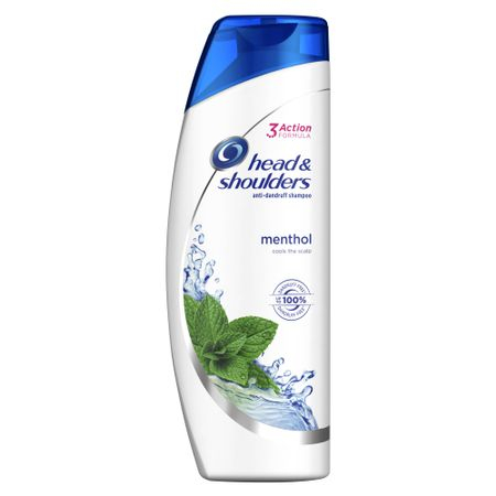 Sampon anti-matreata Head&Shoulders Menthol pentru par gras, 400 ml 0