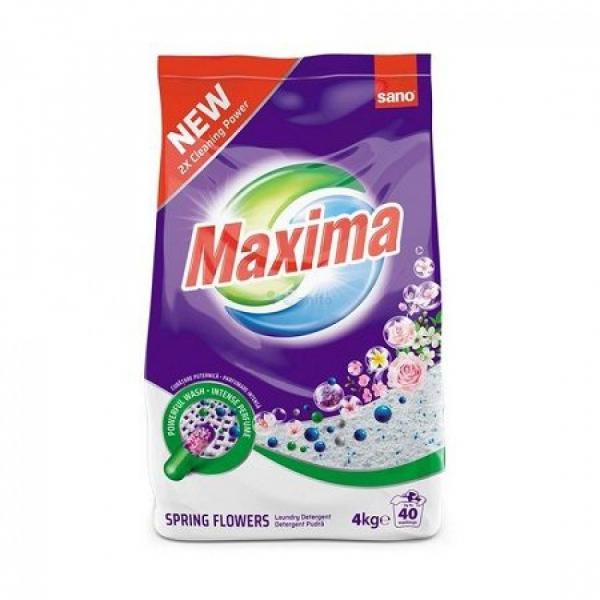 Sano Maxima Detergent Rufe Pudra Mountain Fresh 4kg 0