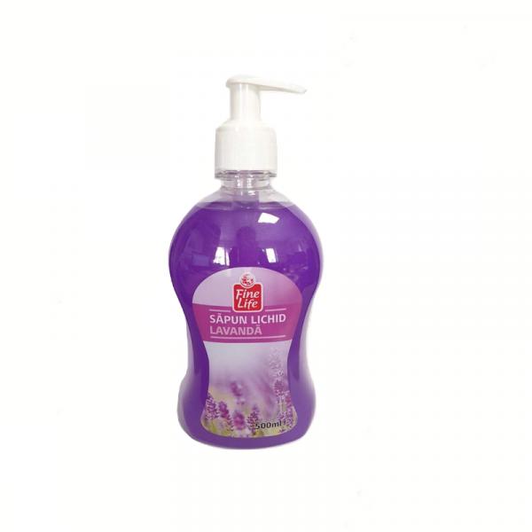 Sapun lichid Fine Life Lavanda, 500ml [0]