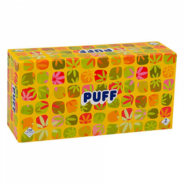 Servetele Puff Pop-up, 2 straturi, 150 buc, Alb 0
