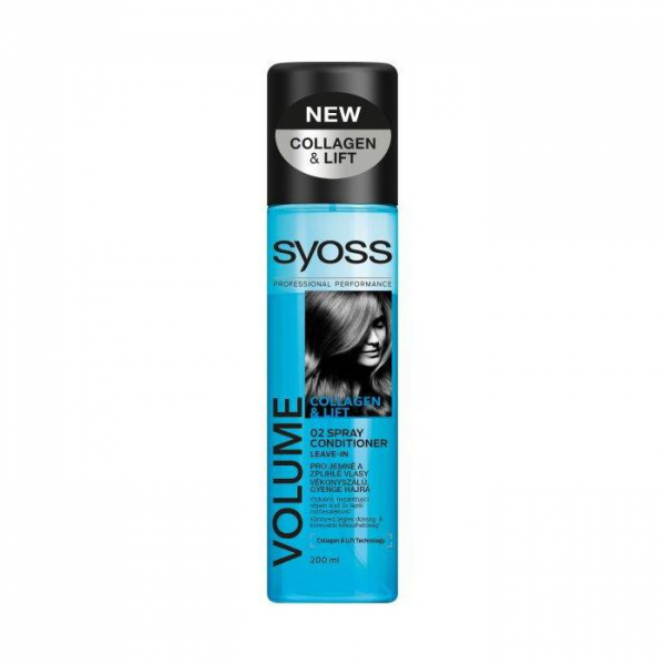 Syoss Balsam Spray Cu Efect De Volum 200ml 0