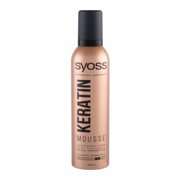 Syoss Spuma Mousse Keratina 250ml 0