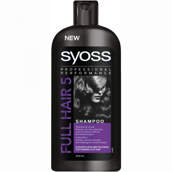 Syoss Sampon Full Hair 5 500ml 0