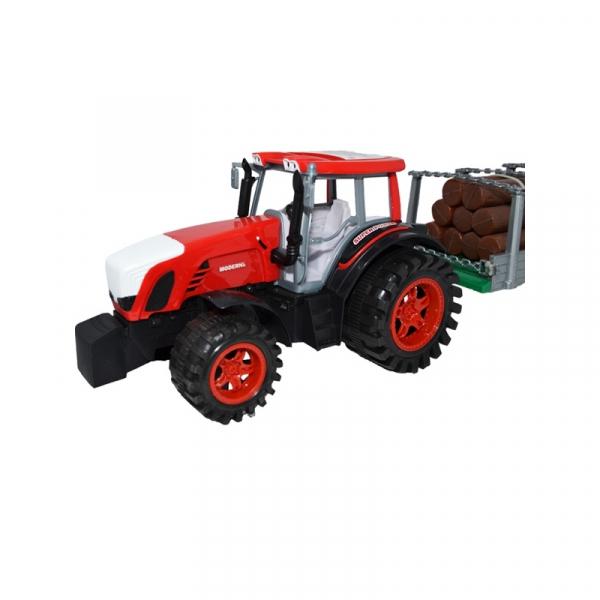 Tractor cu remorca si lemne, 77 cm 1