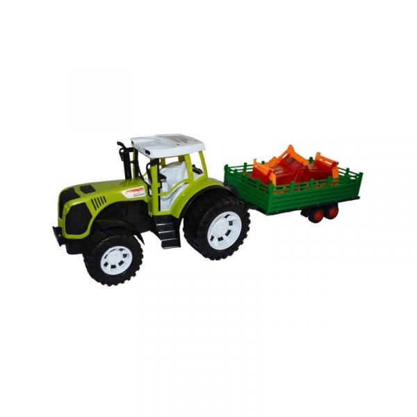 Tractor cu remorca si utilaj, 54 cm 0