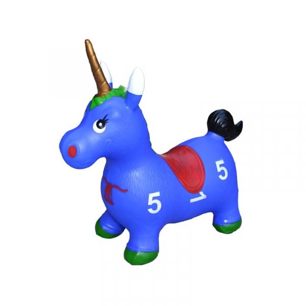 Unicorn din cauciuc, gonflabil, lumina si muzica 2