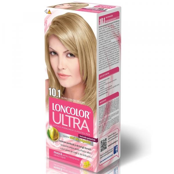 Vopsea Pentru Par Loncolor Ultra Blond Cenusiu Deschis Nr. 10.1, 100ml 0
