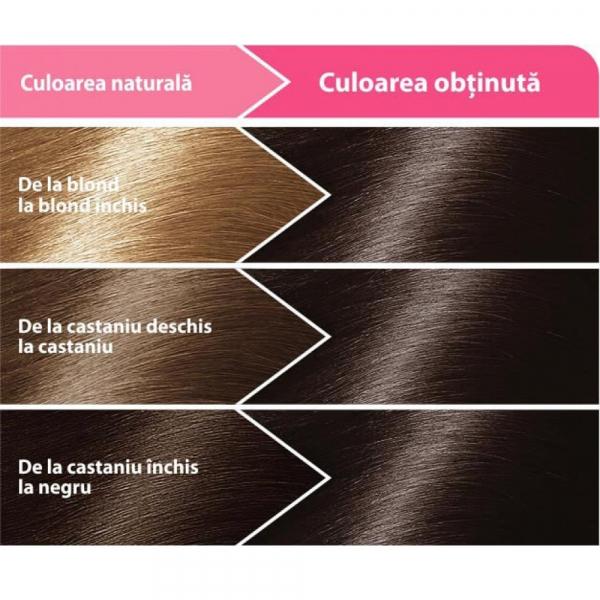 Vopsea Pentru Par Loncolor Ultra Castaniu inchis, Nr. 3, 100ml 1