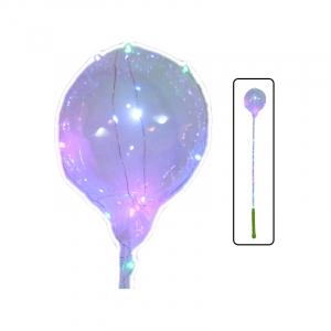 Balon cu suport si instalatie cu baterii0
