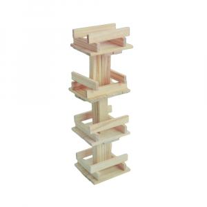 Joc constructii din lemn, 120 piese/cutie3
