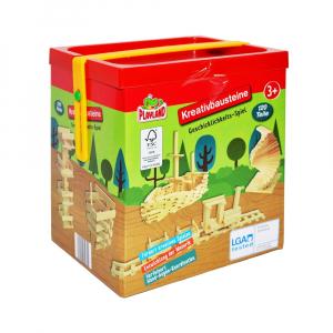 Joc constructii din lemn, 120 piese/cutie4