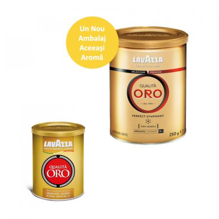 Lavazza Qualita Oro Cafea Macinata Cutie 250g [1]