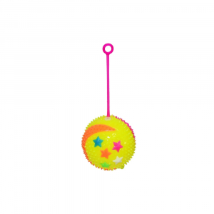 Minge yoyo cauciuc, tepi, lumina, 7,5 cm, Stelute1