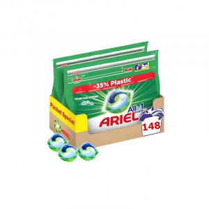 Pachet Ariel All In One Power 148 Capsule + 1 Sapun Antibacterian1
