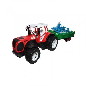 Tractor cu remorca si utilaj, 51 cm0