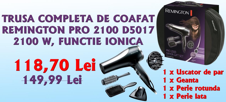 TRUSA COMPLETA DE COAFAT REMINGTON PRO 2100 D5017, 2100 W, FUNCTIE IONICA