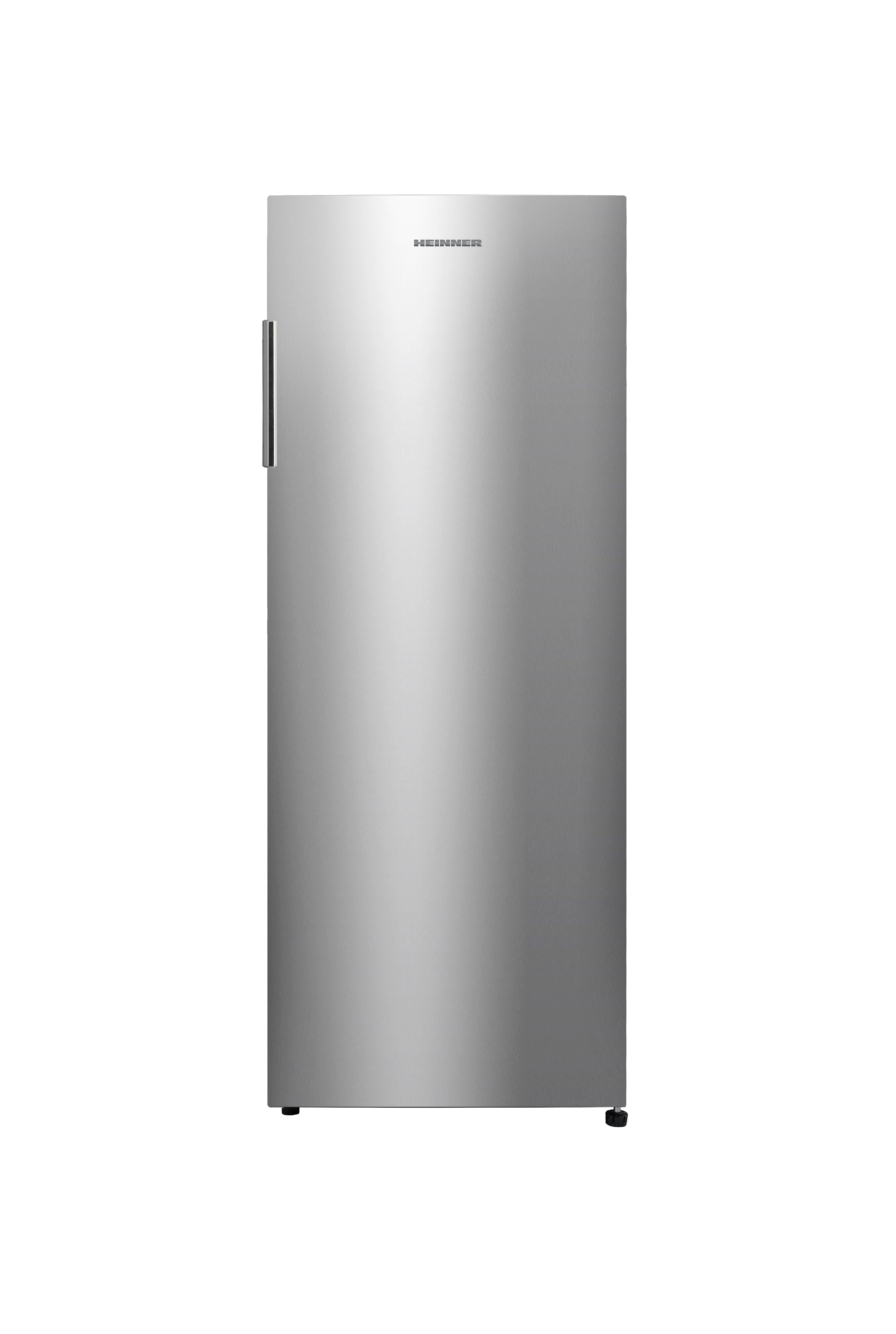 Congelator Heinner HFF-N165SF+, 153 l, Control mecanic, Clasa A+, H 143.4 cm, Argintiu 0