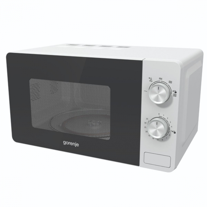 Cuptor cu microunde Gorenje MO17E1W, Putere 700 W, Functie decongelare, Alb 2