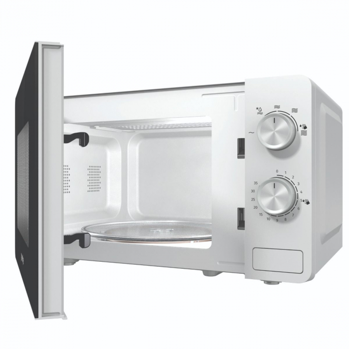 Cuptor cu microunde Gorenje MO17E1W, Putere 700 W, Functie decongelare, Alb 3
