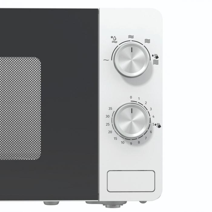 Cuptor cu microunde Gorenje MO17E1W, Putere 700 W, Functie decongelare, Alb [4]