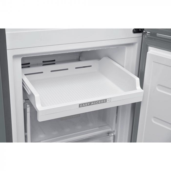 Combina frigorifica Whirlpool W9 821C OX, 318 l, Clasa A++, Dual No Frost, 6th Sense, Display Electronic Interior, H 189 cm, Inox [4]