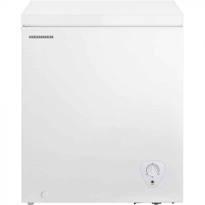 Lada frigorifica Heinner HCF-H145A+, 142 l, Control mecanic, Clasa A+, Alb 0
