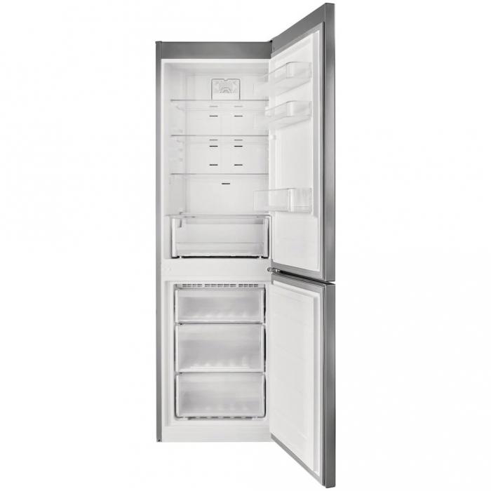 Combina frigorifica Indesit XIT8 T1E X, 320 l, Clasa A+, No Frost, H 189 cm, Inox 2